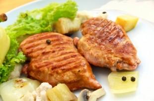 Filet z kurczaka z grilla w miodzie