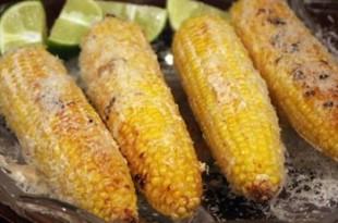 Grillowana kukurydza po włosku