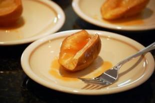 Grillowane gruszki z miodem
