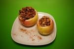 Faszerowane bakaliami jabłka z grilla
