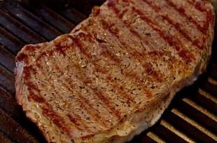 Grillowany stek wołowy