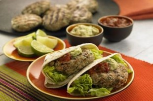 Meksykańskie burgery z grillowaną wołowiną