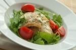 Grillowany dorsz z cytryną i pomidorkami