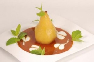 Grillowane gruszki z sosem