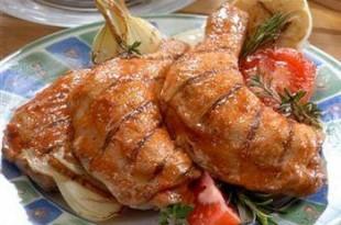 Grillowane ćwiartki z kurczaka