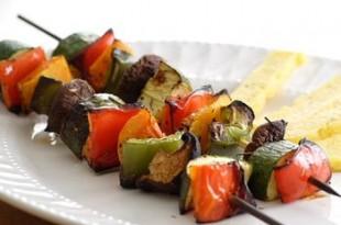 Warzywne szaszłyki na grilla
