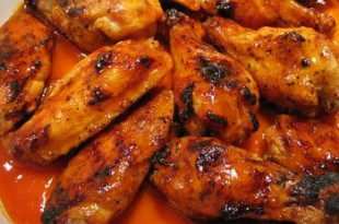 Skrzydełka barbecue z grilla