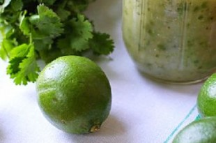 Marynata do grilla z limonki i kolendry