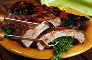 Imbirowe żeberka z grilla
