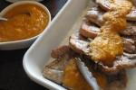karkówka z grilla z pomarańczowym sosem