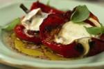 Papryka z grilla z serem