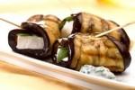 grillowane bakłażany z serem