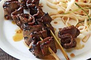 szaszłyki z wołowiny