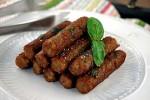 wegetariańska kiełbasa z grilla