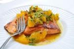 wyśmienita ryba z grilla