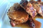 Wykwintna potrawa z polędwicy na grillu