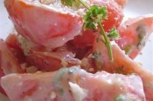 Warzywa z grilla w pikantnym sosie