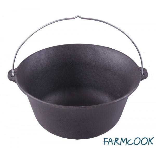 Kociołek węgierski żeliwny Farmcook 7,2l