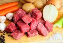 Potrawy z wołowiny z grilla